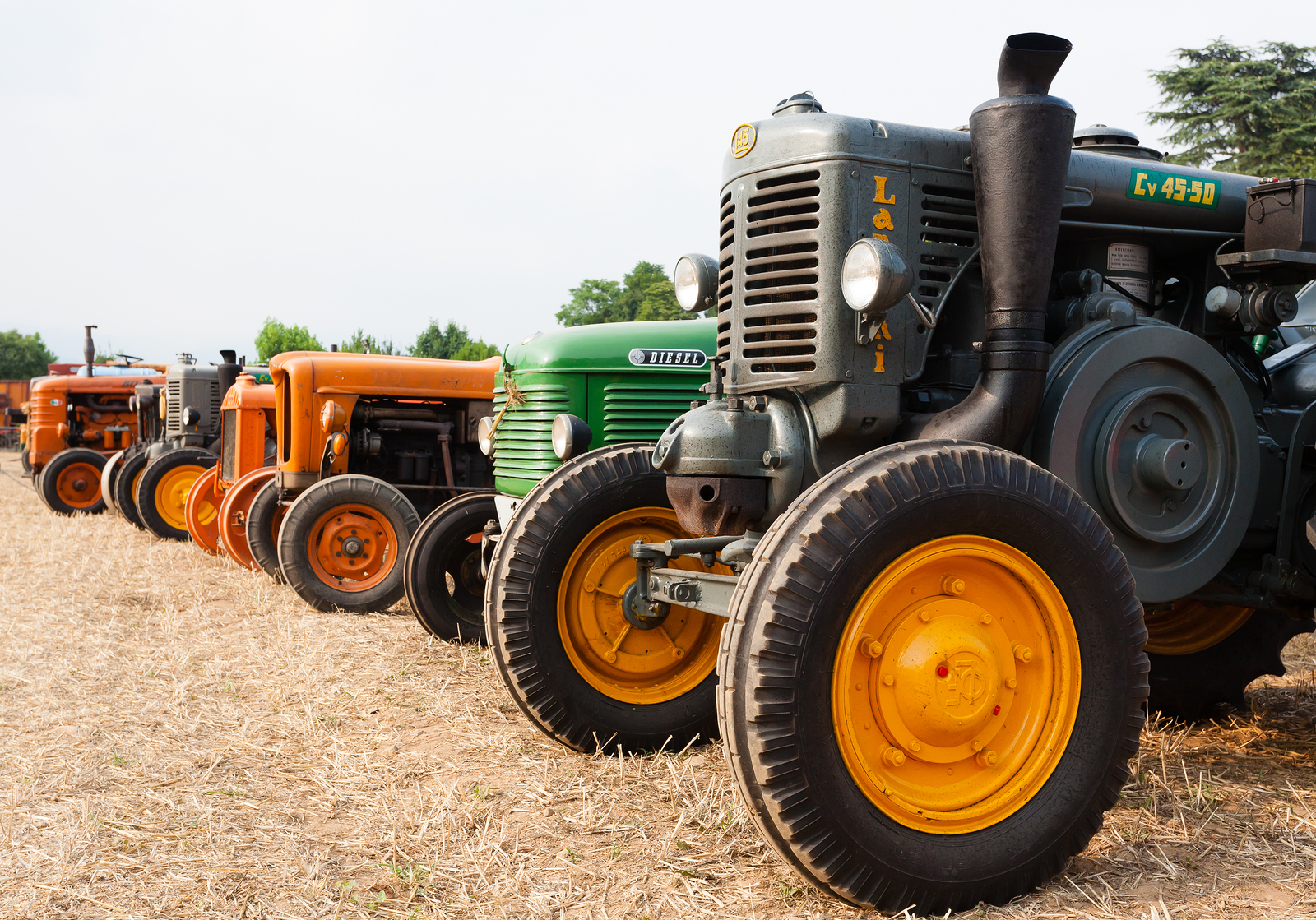 CE Kiff tractor lubricants